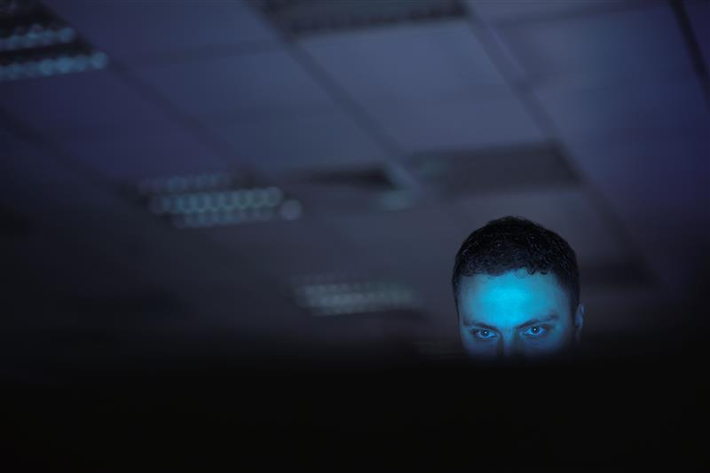 hacker not sleeping
